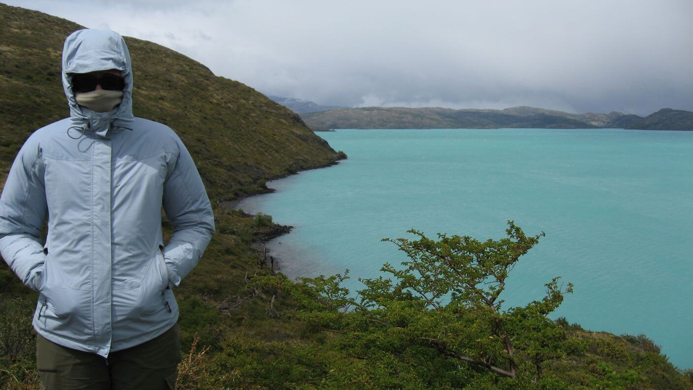 Beautiful but freezing Patagonia