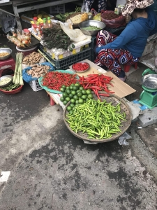 Chilli's at the market in Hoi An