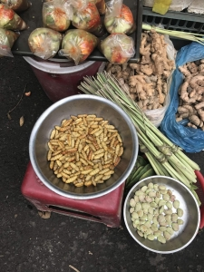 Interesting food at the market in Hoi An