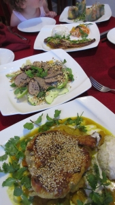 Delicious food in Vietnam
