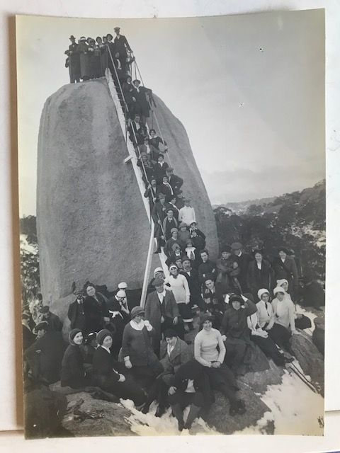 Monolith - Mt Buffalo approx 1914