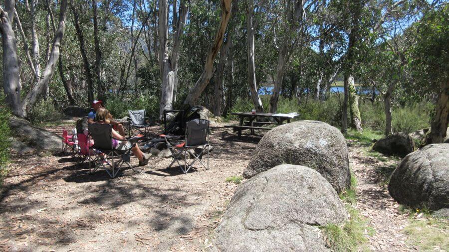 Lake Catani Campground