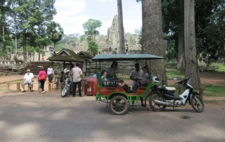 How to choose a tuk tuk driver in Siem Reap - this is Sok and his tuk tuk