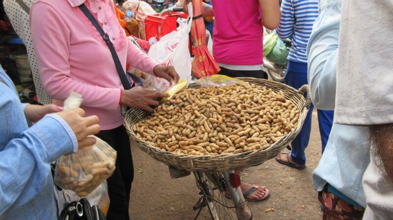 Bees Unlimited, temple alternative tour in Siem Reap - local seeds to buy