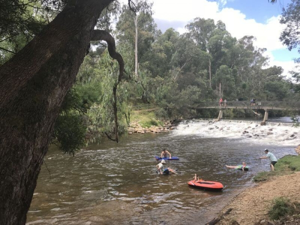 Floating down the Ovens River - Bright and Surrounds activites
