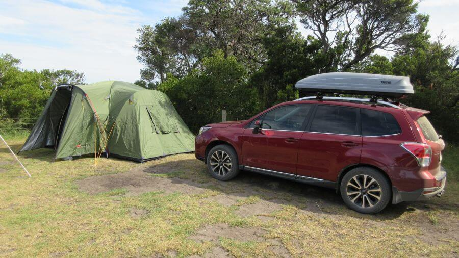 Hill Tribe Travels Black Wolf Tent the first item always ticked off in the Ultimate Family Camping Packing List