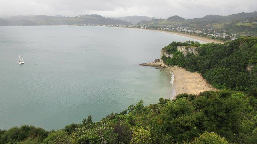 Coastal view of The Coromandel