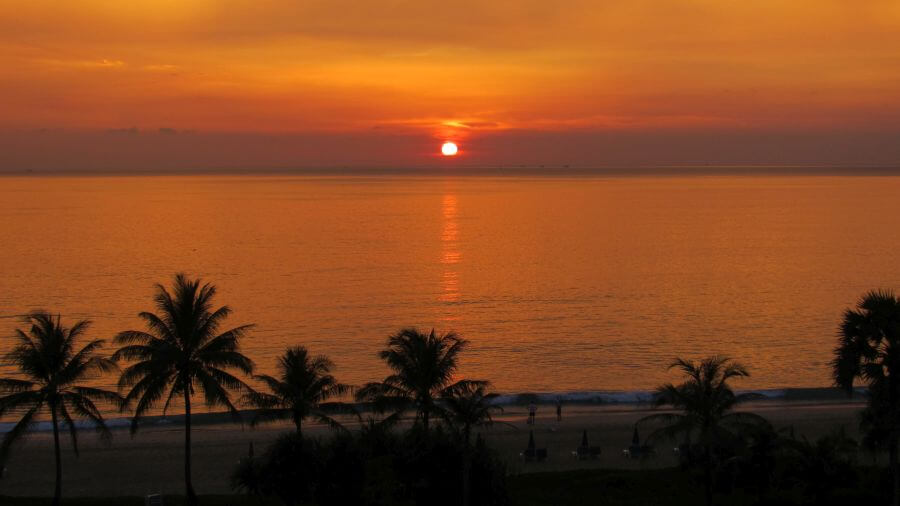 Gorgeous Sunset - Hill Tribe Travels loves Thailand!