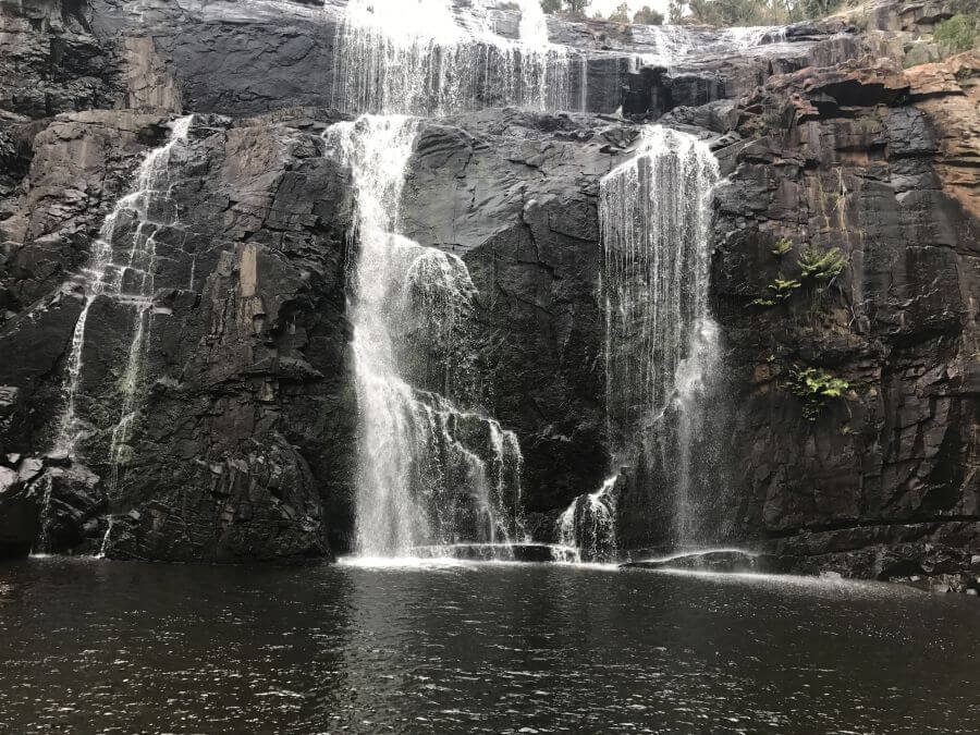 Hill Tribe Travels at MacKenzie Falls. Another great walk with kids in The Grampians