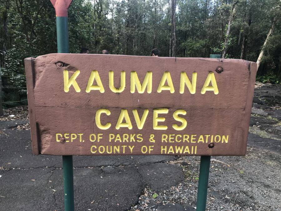 Kaumana Caves, Hilo, The Big Island. Hill Tribe Travels visited Kaumana Caves