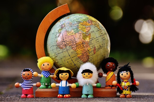 Hill Tribe Travels reckons this world globe is a fantastic gift for travel loving kids