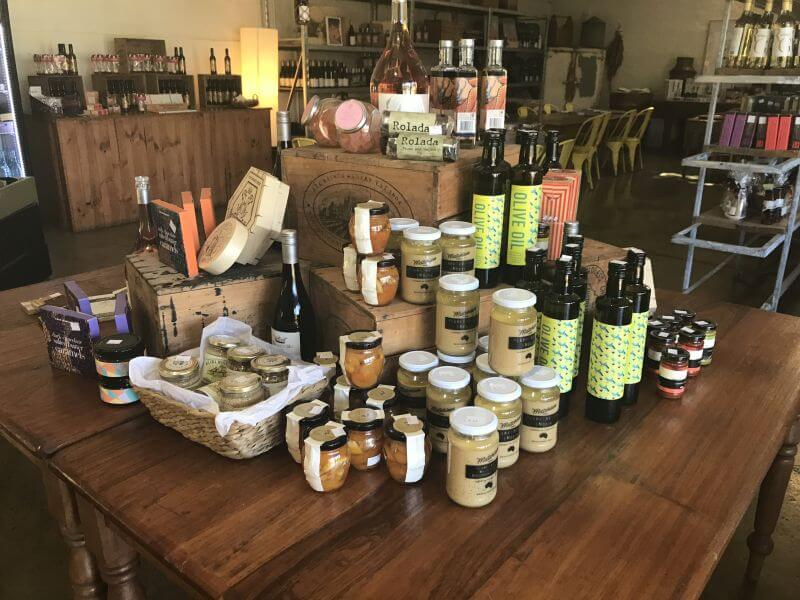 Delicious produce at Indigo Cheese, All Saints Winery. Hill Tribe Travels visited when visting the best wineries to visit with kids in rutherglen