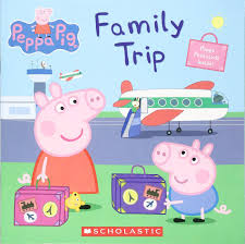 Peppa Pig books like this are a great gift for travel loving kids