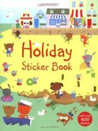 Holiday stickers books like this are a great boredom buster when travelling and stuck in airports. A great gift for travel loving kids