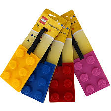 Hill Tribe Travels thinks these Lego luggage tags are a great gift idea for travel loving kids