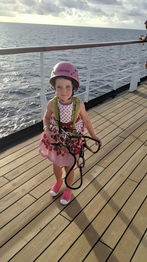Olive from Hill Tribe Travels had a ball with all the activites on board