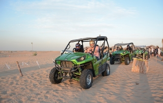 Quad Biking Desert Safari