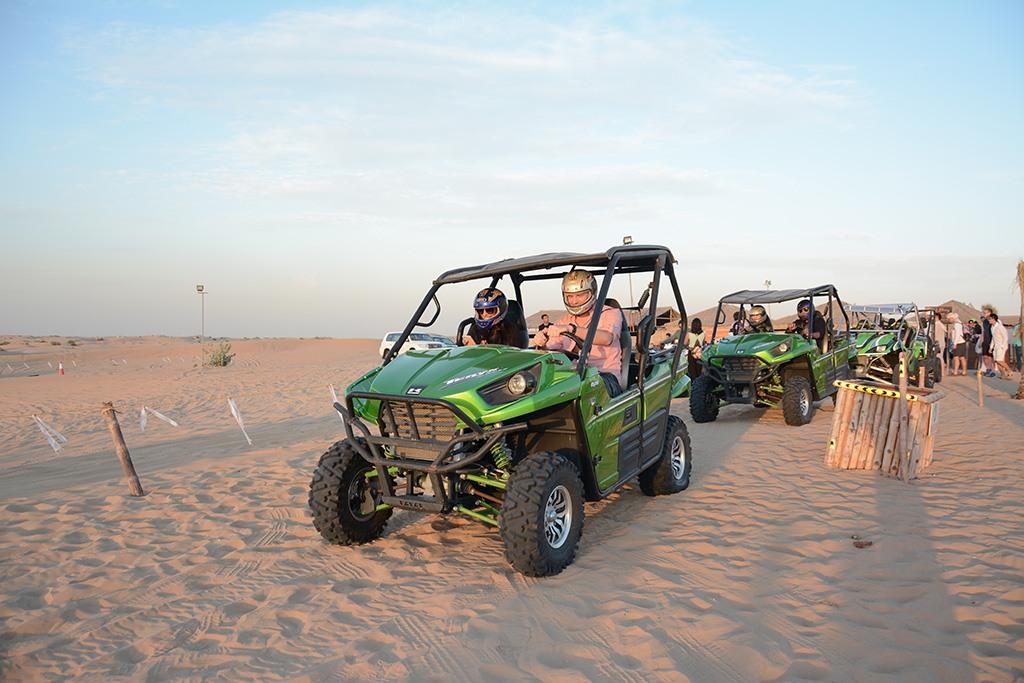 Quad Biking Desert Safari