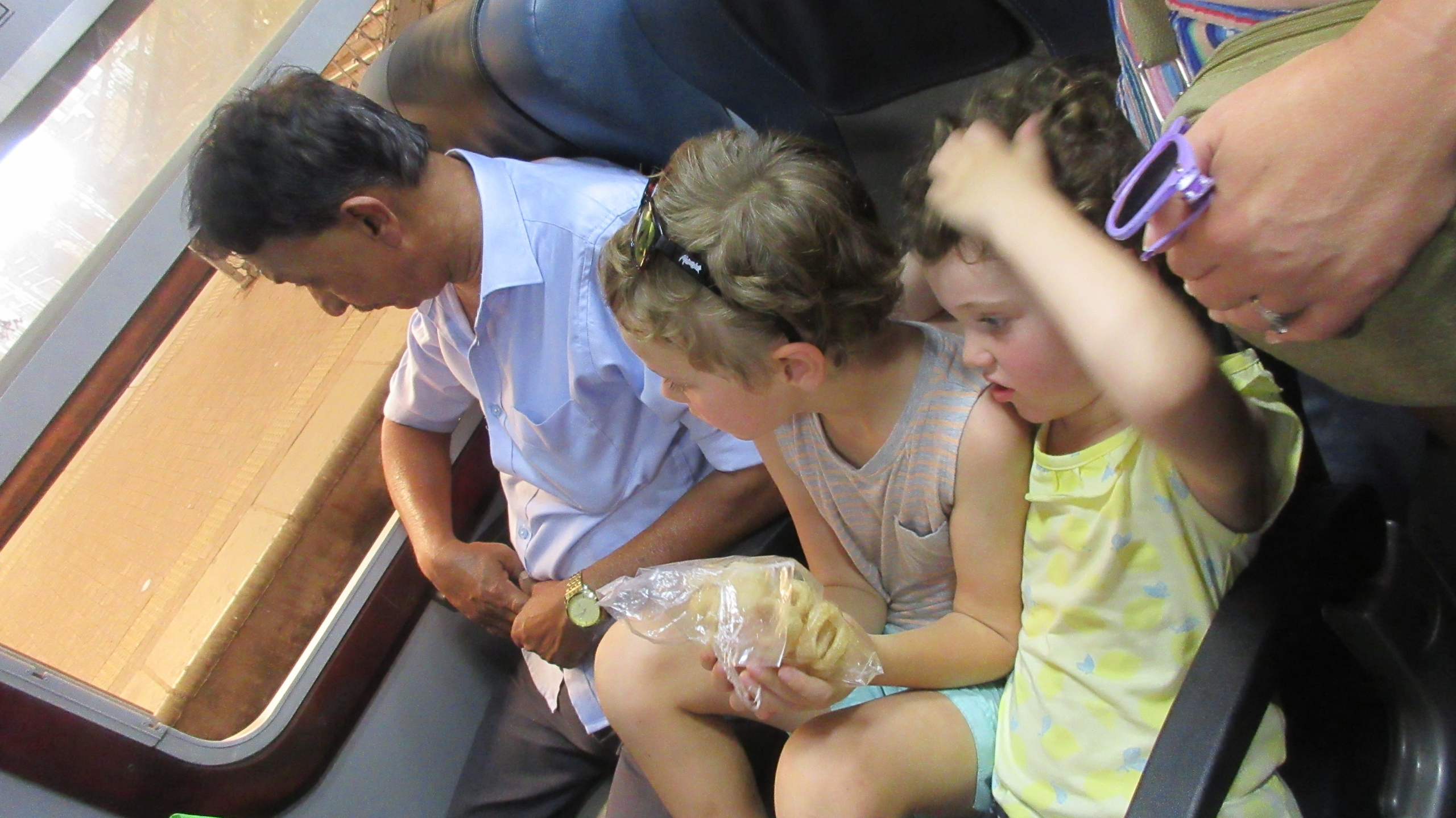 Catching the train in Sri Lanka with kids Hill Tribe Travels Ned and Olive