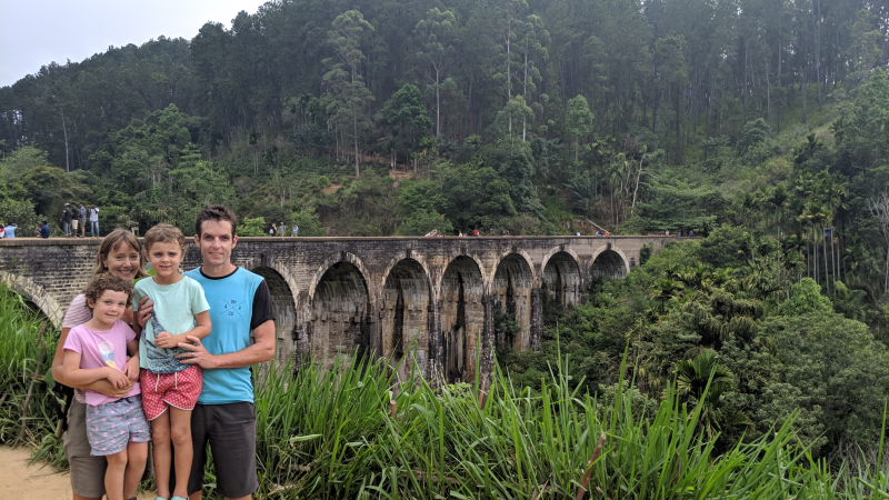 Hill Tribe Travels Sri Lanka Family adventure Sri LAnka with kids This photo is Nine Arches Bridge