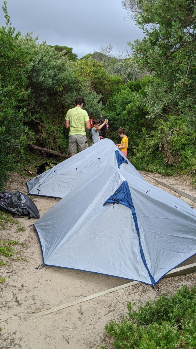 Camping and hiking tents