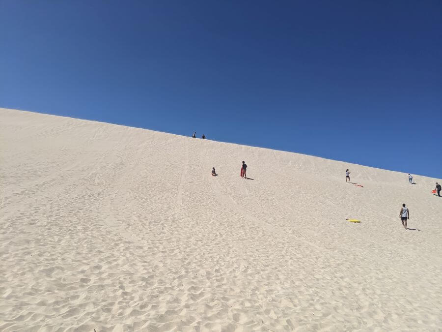 The Sand Dunes of Kangaroo Island. Kanaroo Island with kids. Best things to do on Kangaroo Island