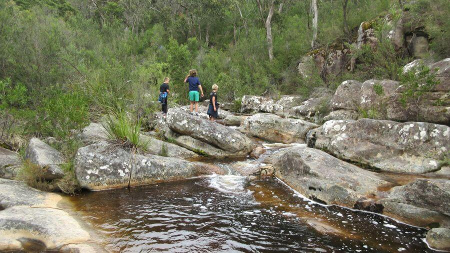 Heading up to The Pinnacle. Plenty to see and break up the journey. One of the best hikes for kids in the Grampians