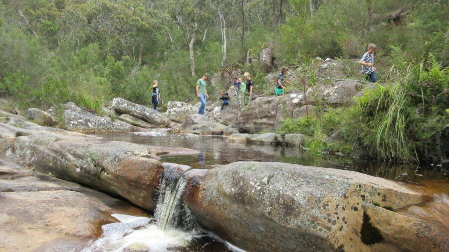 Gorgeous Rest Stop on the way up to The Pinnacle. One of the best walks for kids in the Grampians