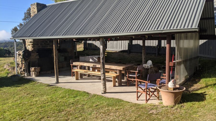 Hill Tribe Travels visited Sassafras Springs on Tasmania with kids itinerary